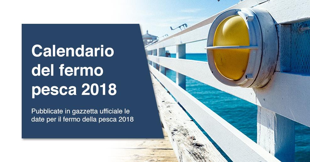 Calendario Pesca 2020.Calendario Del Fermo Pesca 2018